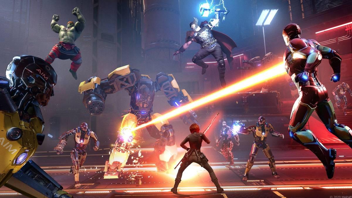 Marvel´s Avengers actualización