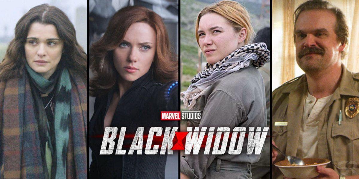 Personajes Black Widow
