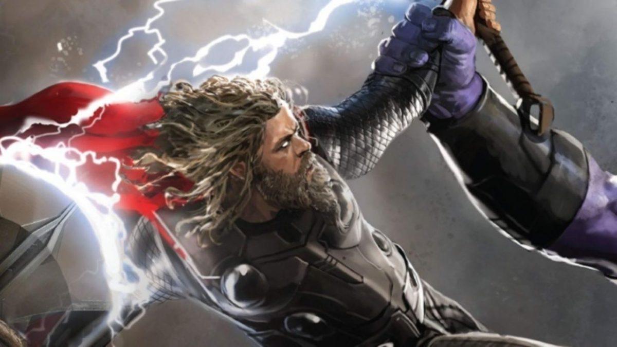 Vengadores Endgame: Arte conceptual muestra una batalla final diferente