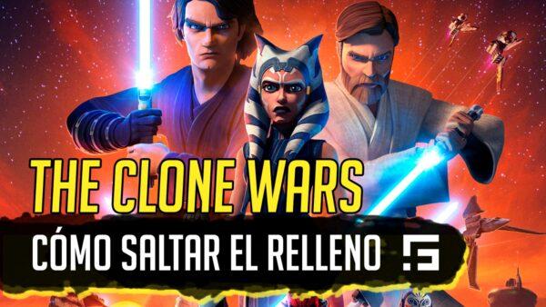 Cómo saltar el relleno de Clone Wars