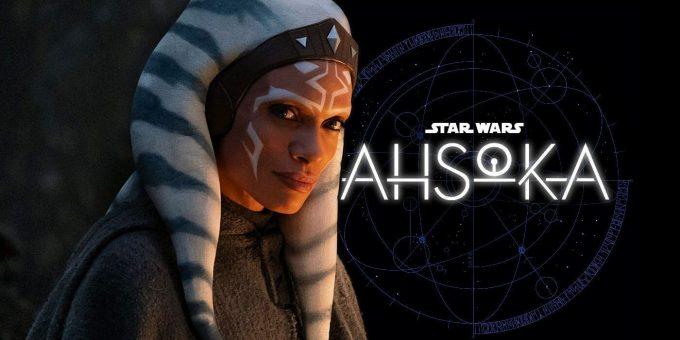 "Ahsoka Tano y Luke Skywalker en ""Ahsoka"""