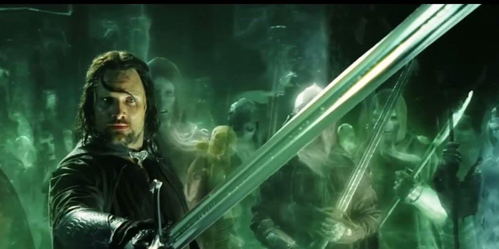 Aragorn el Señor de los Anillos