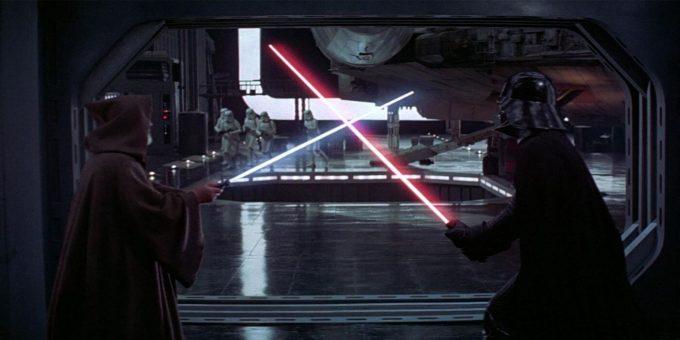 obi-wan kenobi contra darth vader serie