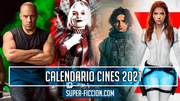 Calendario cines 2021