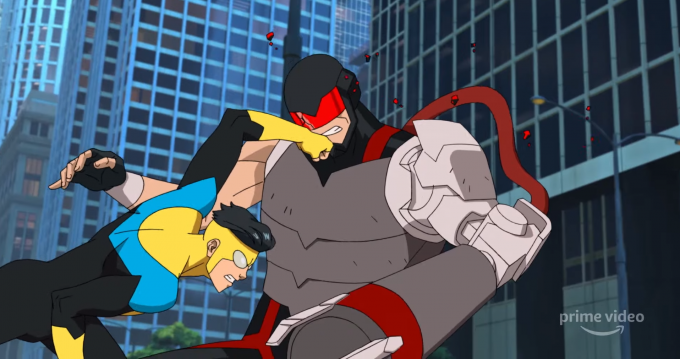 La serie animada de Invincible