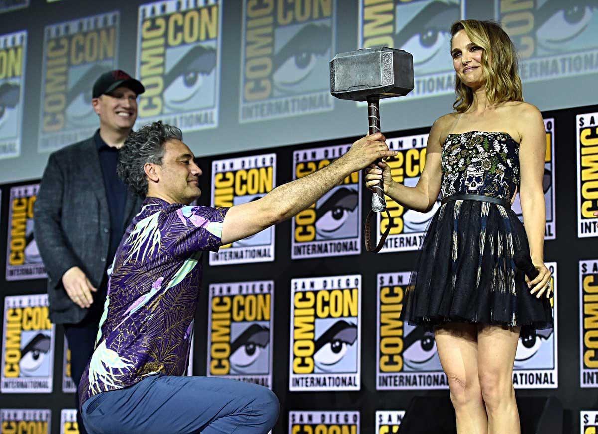 Natalie Portman en Thor: Love and Thunder