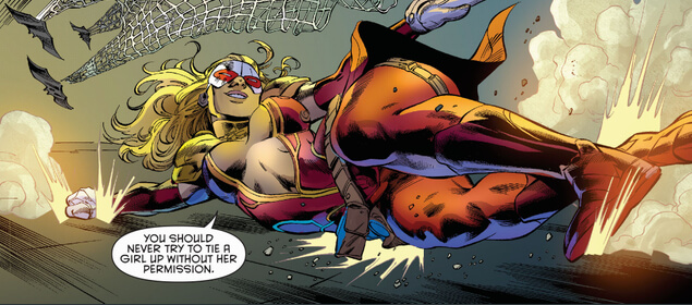 Lady Victim Titans