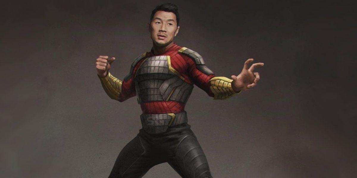 Simu Liu como Shang- Chi