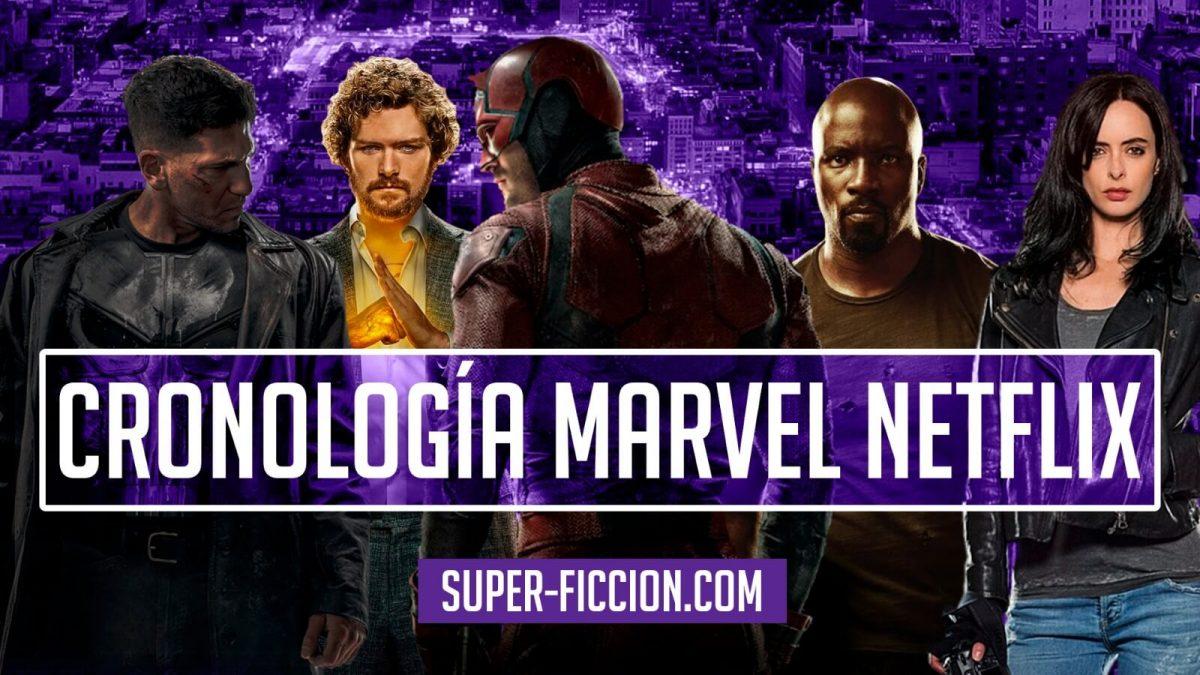 Marvel Netflix Defenders Series Orden
