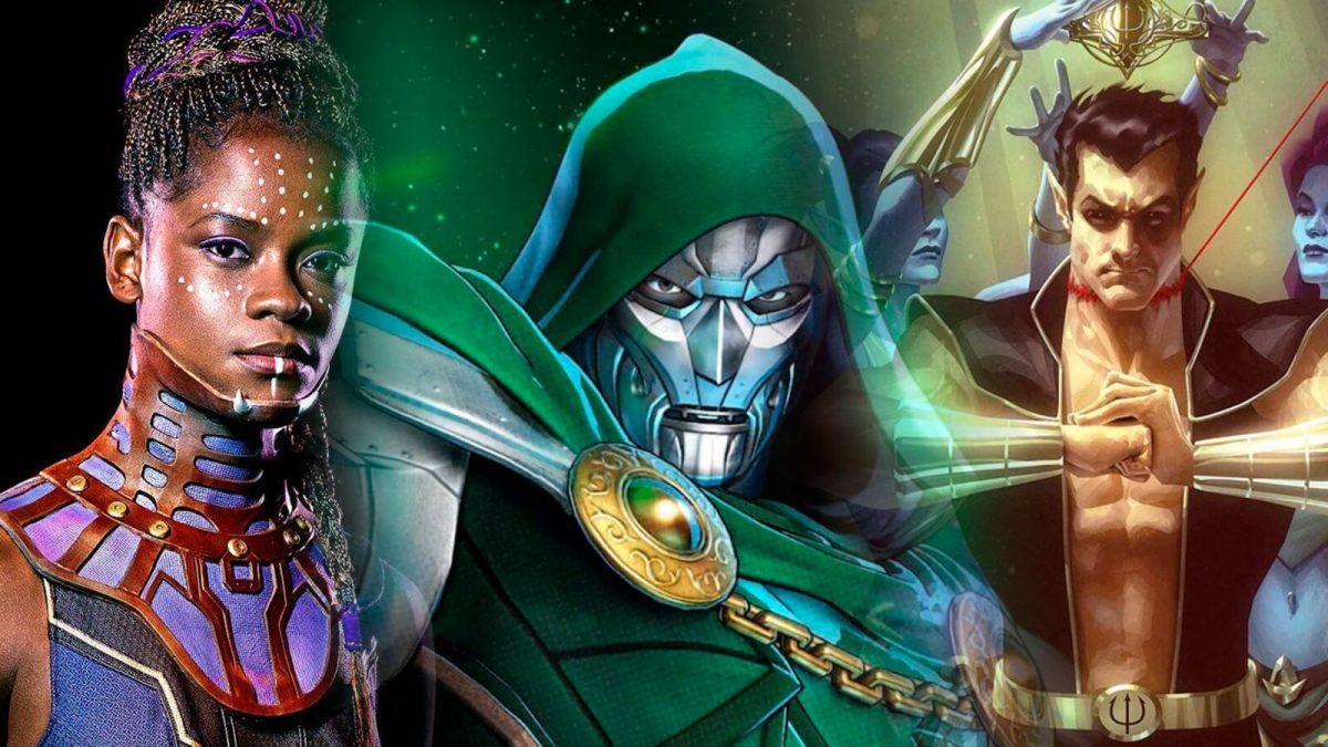 Black Panther 2 Shuri Namor Dr Doom