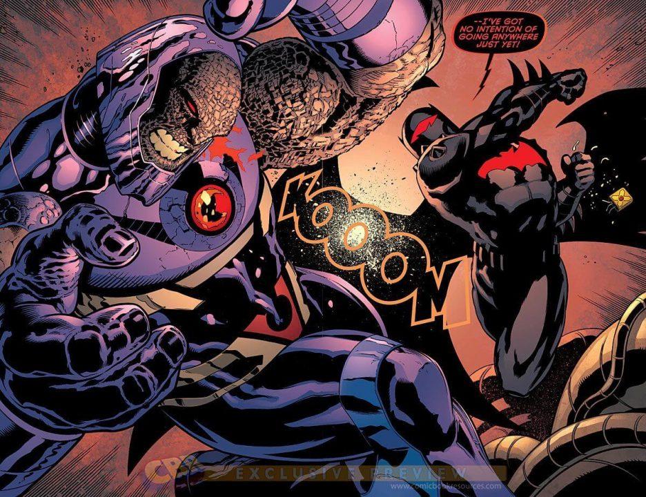 Darkseid vs. Batman