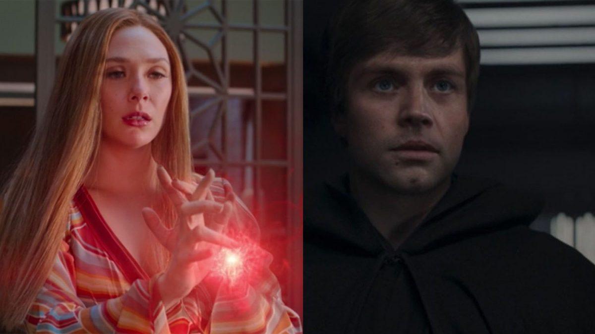 Elizabeth Olsen WandaVision Skywalker