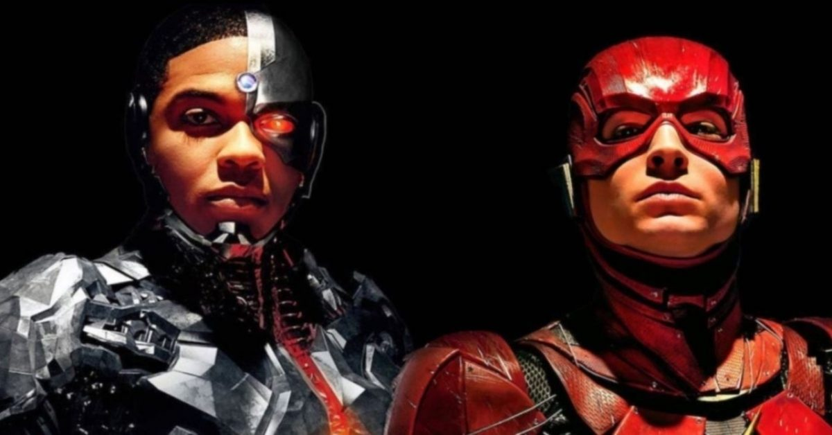 Cyborg Flash Zack Snyders Justice League