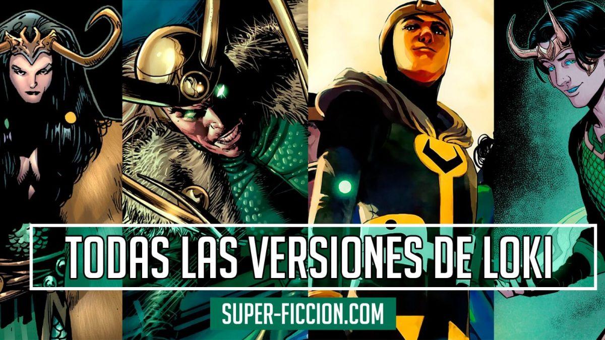 Todas las versiones de Loki