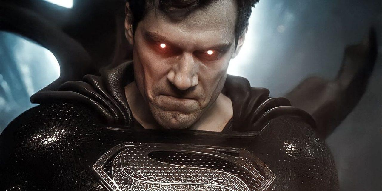 Superman traje negro reseña zack snyder's justice league sin spoilers