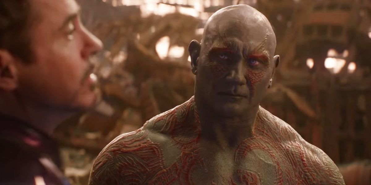 Dave Bautista Drax Thanos
