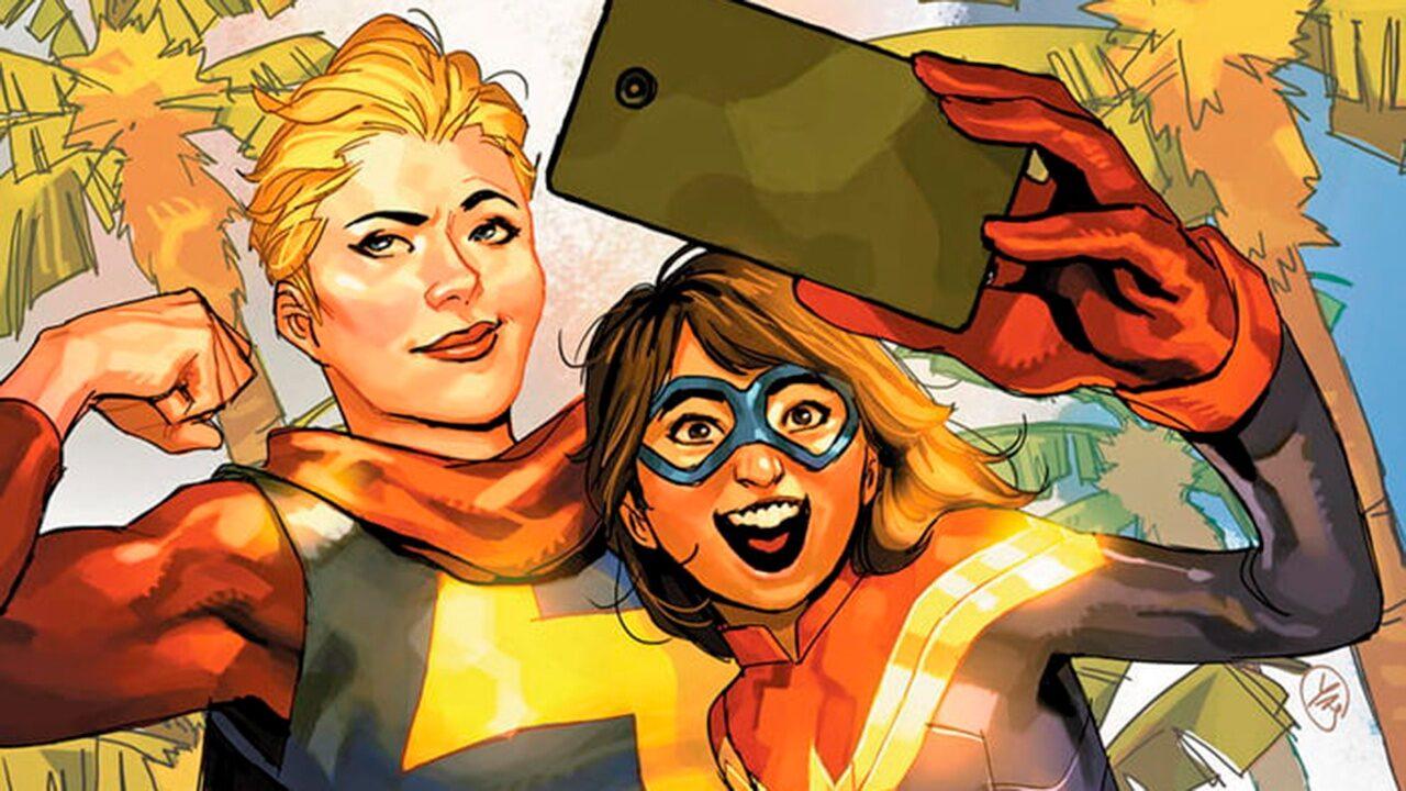 Ms. Marvel y Capitana Marvel