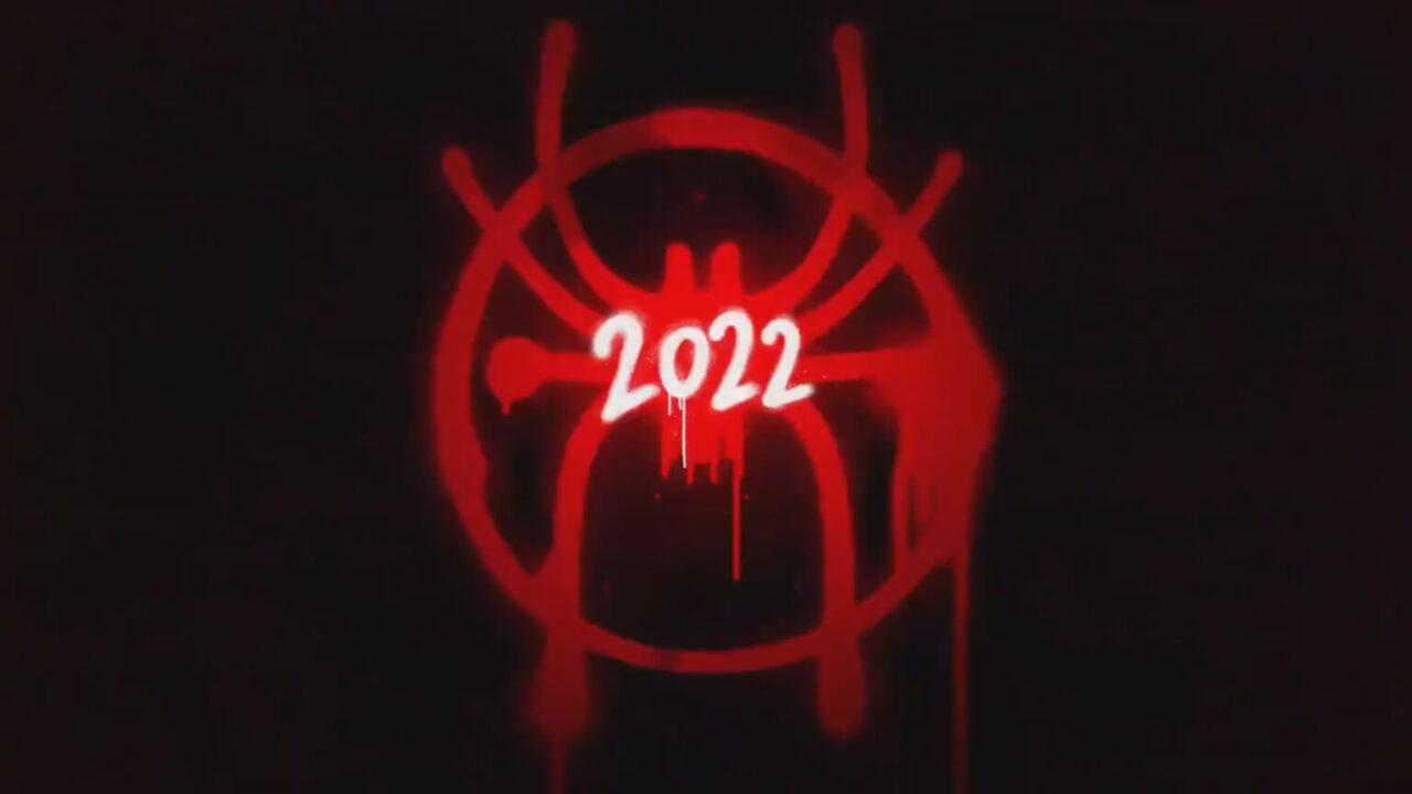Spider-Man into the Spider-Verse 2 logo película