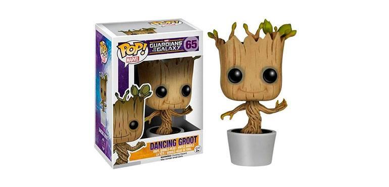 Funko Pop de Baby Groot bailando