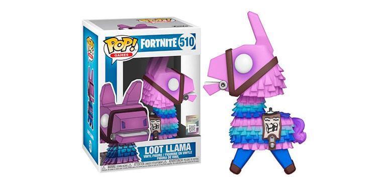 Funko Pop de la Llama Loot de Fortnite