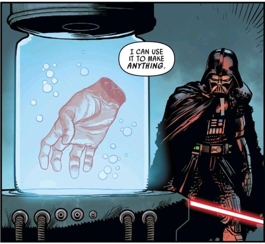 Origen Snoke Luke Skywalker