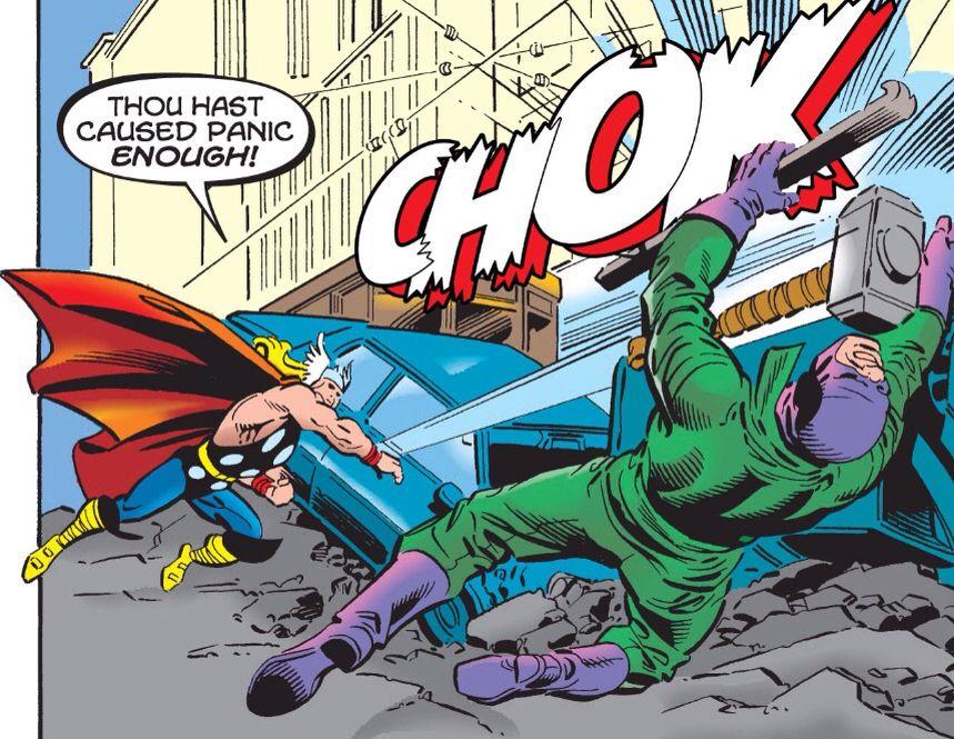 El demoledor vs Thor