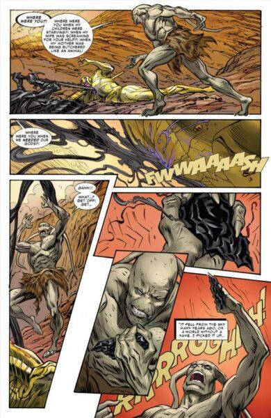 El origen de Gorr y la necroespada