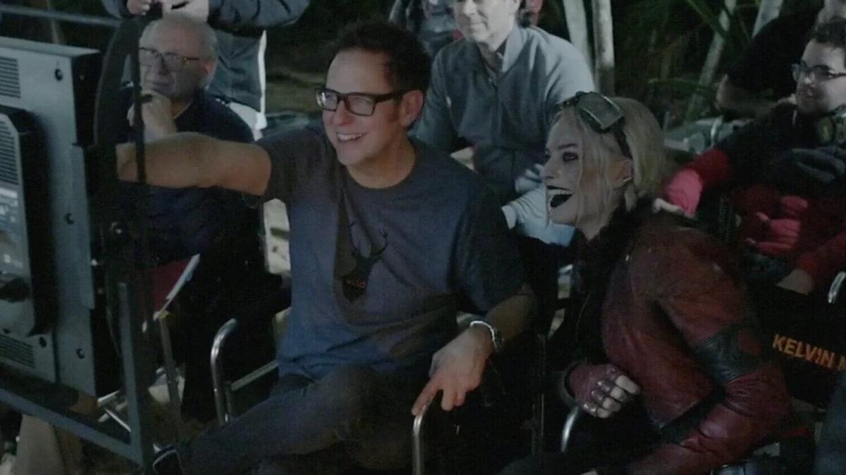 James Gunn y Margot Robbie
