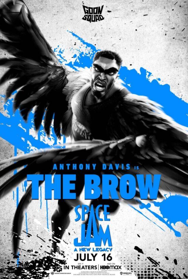 """Anthony Davis como """"The Brow"""""""