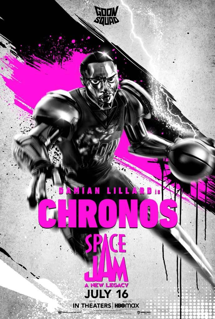 """Damian Lillard como """"Chronos"""""""