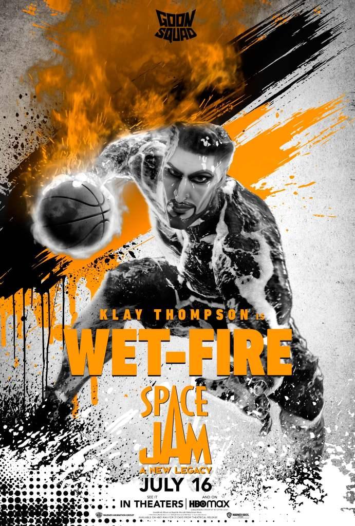 """Klay Thompson como """"Wet-Fire"""""""