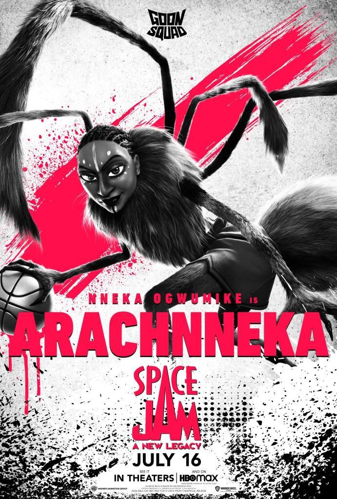 """Nneka Ogwumike como """"Arachnneka"""""""