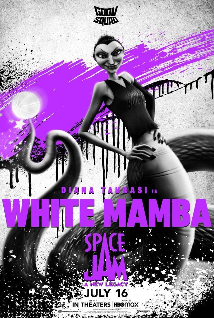 "Diana Taurasi como ""White Mamba"""