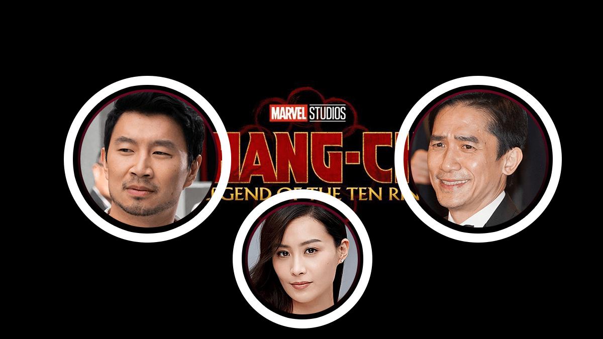 Shang-Chi y su cast asiático