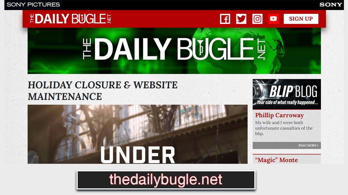 Daily Bugle página web MCU