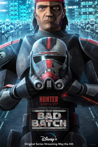 póster de hunter de the bad batch