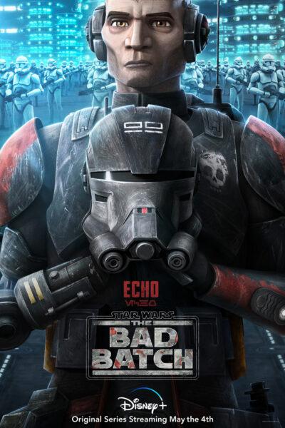 Fondo de pantalla de Echo en the bad batch