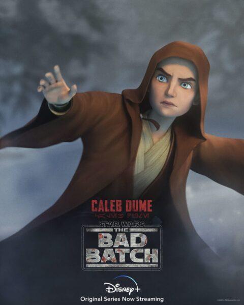 Quien es el niño padawan del primer episodio de The Bad Batch