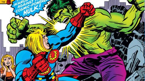Ikaris lucha contra los Eternos en los cómics de Marvel