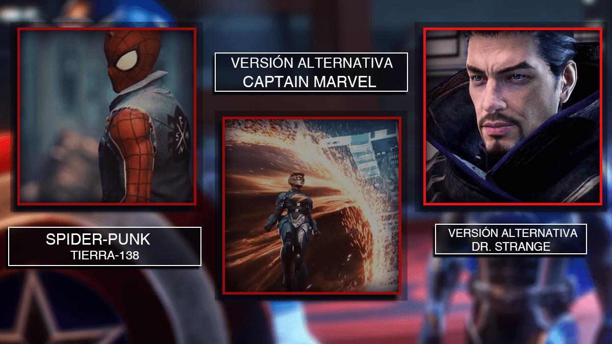 Marvel Future Revolution Héroes alternativos