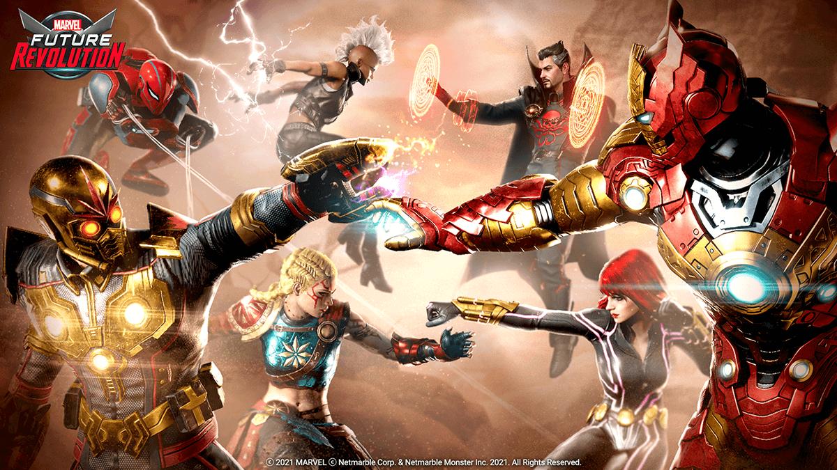 Marvel Future Revolution el juego nuevo multiversal