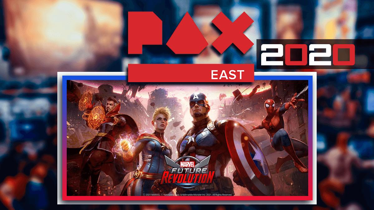 PAX East 2020 Anuncio de Marvel Future Revolution