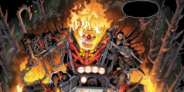 red hulk venom ghost rider circle of four mefisto