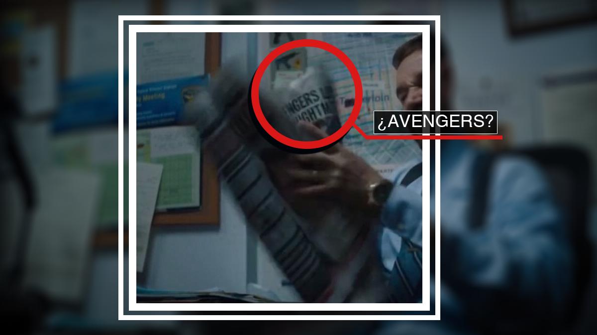 Posible referencia a Avengers en Venom 2