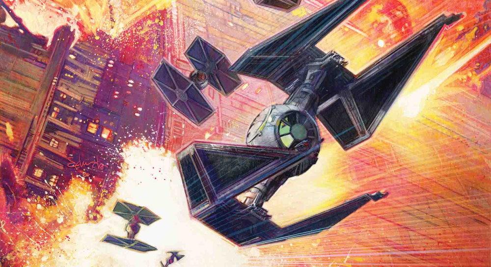 Star Wars Caza TiE reseña Star Wars Comics