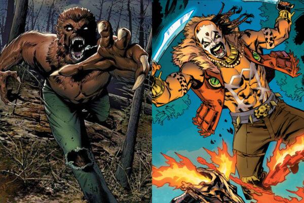 Moon Knight, Bushman, Werewolf