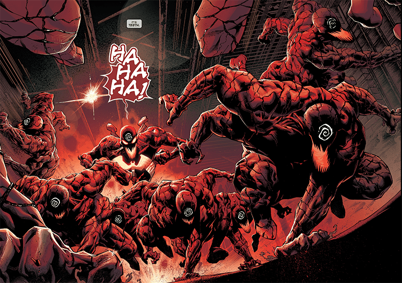 venom let there be carnage cómics