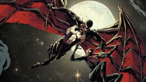 venom alas dragon miles morales spiderman