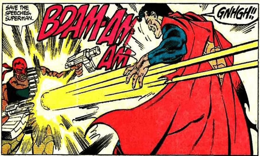 James Gunn, director de The Suicide Squad, habló sobre el disparo de Bloodsport a Superman y sembró dudas sobre la identidad del personaje.