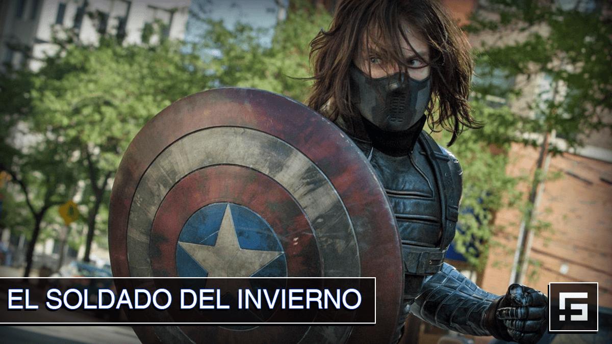 Bucky como el Soldado del Invierno en Captain America and the Winter Soldier